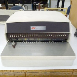 101 GBC Electric Perforator