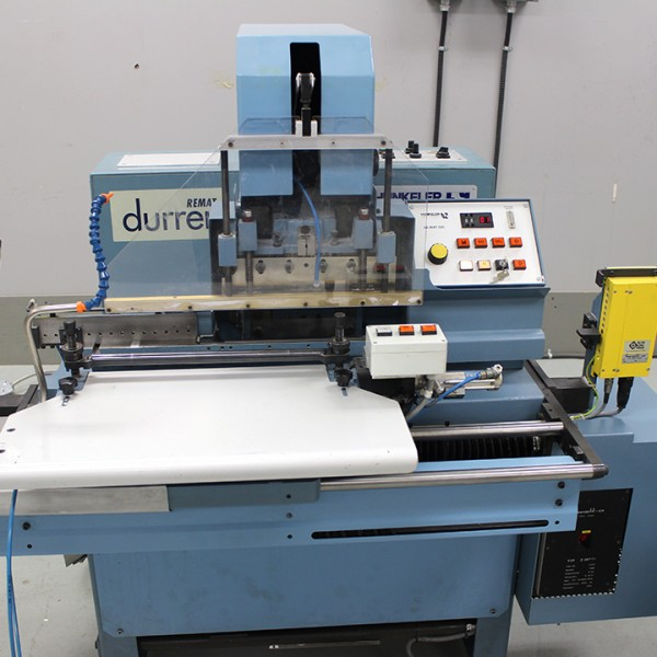 """Durrer"" index cutting machine."