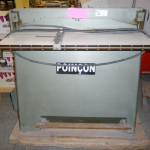 46 Poincon Paper punch