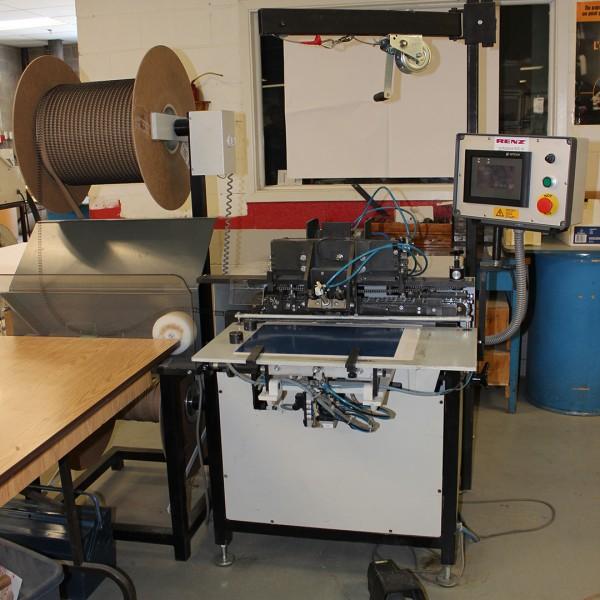 """""""Renz"""" autobind 500 semi-automatic binding machine 19.68?"""